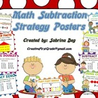 Math Subtraction Posters