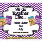 Math Subtraction Station Games Common Core-- Peanut Butter