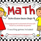 Math Take-Home Game Bags