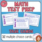 Math Test Prep and Review Task Cards for Fourth Grade