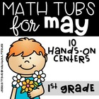 Math Tubs for May {10 Hands-On Math centers}