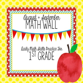 Math Wall: 1st Grade CC Unit 1,