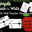 Math Wall Teacher Resources!