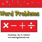 Math Word Problems Promethean Flipchart Lesson