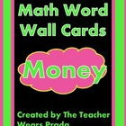 Math Word Wall Cards (Money) FREEBIE