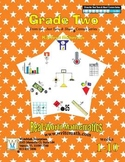 2nd Grade Math Centers or Worksheets (Weeks 1 - 10)