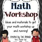 Math Workshop~ Program Idea