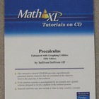 Math XL Tutorials on CD for Precalculus