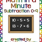 Math in a Minute: Subtraction