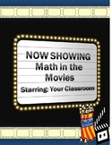 Math in the Movies - An Anytime Activity