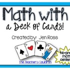 Math with a Deck of Cards