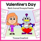 Mathbooking - Valentine's Day Journal Prompts
