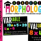 Academic Morphology: Operations & Algebraic Thinking (5.OA