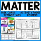Matter - Solids, Liquids, and Gases Unit Activities, Poste