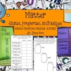 Matter (States, Properties, & Changes) Science Interactive