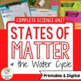 Matter Unit - Lesson Plans, Assessments, Experiments, Bull