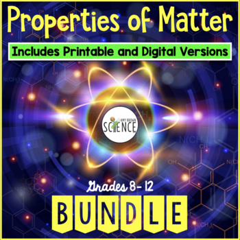 Matter and Change Unit Plan Bundle (Elements, Compounds, M