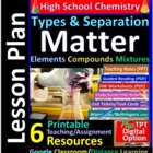 Matter and Energy - Organized and Engaging Worksheets for