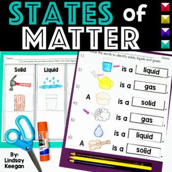 Matter is Amazing! Solids, Liquids and Gases
