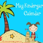 May 2013 Kindergarten Calendar for ActivBoard