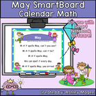 May Calendar Math/Morning Meeting for SMARTBoard