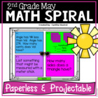 May Daily Math Spiral Review