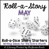 {May} Roll-a-Story Writing Activity