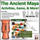Mayan Civilization Unit Lesson Plans and Answer Keys (Comm