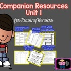 """McGraw-Hill Wonders 3rd Grade Unit 1 """"The Complete Set"""" of"""