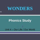 McGraw-Hill Wonders PHONICS STUDY BOARD - Grade 2:  Unit 4
