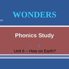 McGraw-Hill Wonders PHONICS STUDY BOARD - Grade 2:  Unit 6