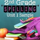 McGraw-Hill Wonders Second Grade Spelling Sample (Unit 1: Week 1)