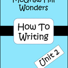 McGraw-Hill Wonders Unit 2: How To Writing (3rd grade)