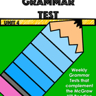 McGraw-Hill Wonders Unit 4 Grammar Test