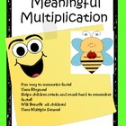 Multiplication:  Rhymes and Chants~ Fun Way To Improve Fac