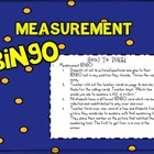 Measurement BINGO!