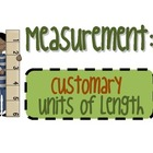 Measurement: Customary Units of Length Worksheets Pack