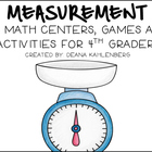 Measurement {Games, Centers and Activities for 4th Graders}