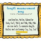 Measurement: Length Song Freebie