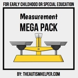 Measurement Mega Pack for Early Childhood or Special Education