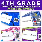 Measurement Units and Conversions QR Code Fun Pack (4.MD.A