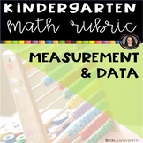 Measurement and Data kindergarten math Common Core Rubric