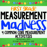 Measuring Madness {4 Common Core Aligned Measuring Activities}