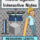 Measuring Metrics review Length, Mass, Volume including st