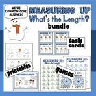 Measuring Up – customary & metric length games, task cards