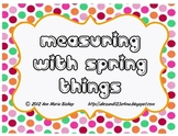 Measuring with Spring Things