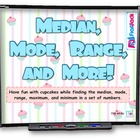 Median, Mode, Range & More Data Sets SMART BOARD Game