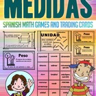 Medidas - Tarjetas De Intercambio - Math Games and Lesson Plan