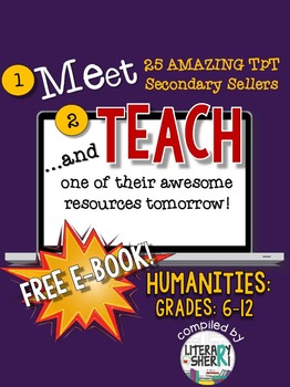 http://www.teacherspayteachers.com/Product/Meet-and-Teach-eBook-Humanities-Grades-6-12-Free-1466589