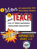 Meet and Teach eBook: Humanities, Grades 6-12 (Free)